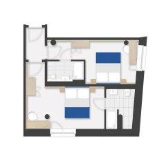 Vi Vadi Hotel Bayer 89 3* Стандартный семейный номер с двуспальной кроватью