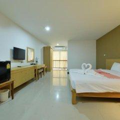 Отель Jomtien Plaza Residence 3* Номер Делюкс с различными типами кроватей фото 12