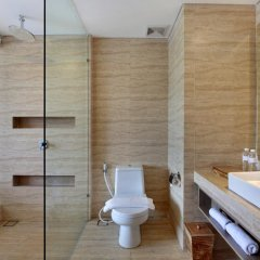 Отель Jimbaran Bay Beach Resort & Spa 4* Улучшенный номер с различными типами кроватей фото 6