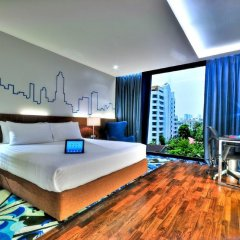 Отель Galleria 10 Sukhumvit Bangkok by Compass Hospitality 4* Номер Делюкс с различными типами кроватей
