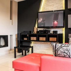 Апартаменты Szymoszkowa Residence Luxury Apartments Косцелиско комната для гостей фото 2
