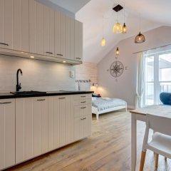 Апартаменты Dom & House - Apartments Waterlane Студия с различными типами кроватей фото 3