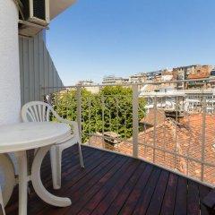 Отель Cherry Pick Apartments Сербия, Белград - отзывы, цены и фото номеров - забронировать отель Cherry Pick Apartments онлайн балкон