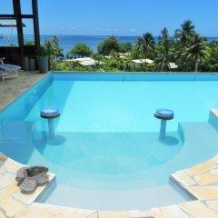 Отель Fare Arana Французская Полинезия, Муреа - отзывы, цены и фото номеров - забронировать отель Fare Arana онлайн бассейн