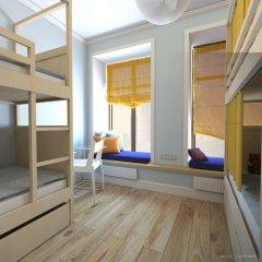 Лайк Хостел Санкт-Петербург на Театральной Кровать в общем номере с двухъярусной кроватью фото 15