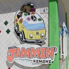 Jammin' Rimini Backpackers Hotel Римини помещение для мероприятий