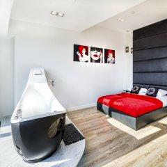 Отель 40th+ Floor Luxury Apartments in Sky Tower Польша, Вроцлав - отзывы, цены и фото номеров - забронировать отель 40th+ Floor Luxury Apartments in Sky Tower онлайн комната для гостей