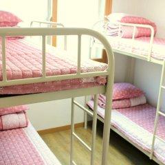 Fortune Hostel Jongno Кровать в женском общем номере с двухъярусной кроватью