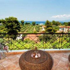 Отель Villa Pefkohori Греция, Пефкохори - отзывы, цены и фото номеров - забронировать отель Villa Pefkohori онлайн балкон