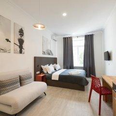 Гостиница Partner Guest House Khreschatyk 3* Студия с различными типами кроватей фото 40