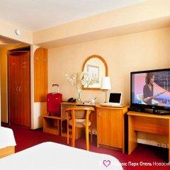 Marins Park Hotel Novosibirsk 4* Стандартный номер с двуспальной кроватью фото 6