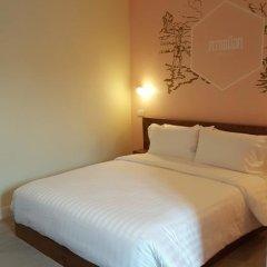 Хостел Siri Poshtel Bangkok Номер Делюкс с двуспальной кроватью фото 14