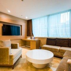 Отель China Mayors Plaza 4* Представительский люкс с различными типами кроватей фото 3