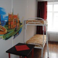 Хостел Европа Кровать в общем номере с двухъярусной кроватью фото 5