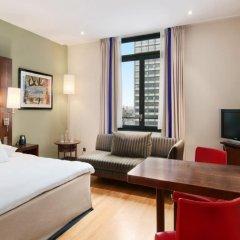 Отель Hilton Brussels City 4* Полулюкс с различными типами кроватей фото 2