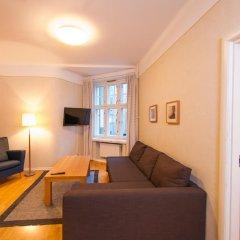 Отель Hellsten Helsinki Parliament 3* Улучшенная студия с разными типами кроватей фото 3