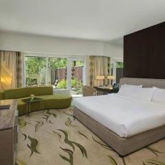 Отель Hilton Capital Grand Abu Dhabi 5* Представительский номер с различными типами кроватей