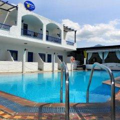 Отель Ariadni Blue Ситония бассейн