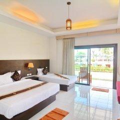 Отель Golden Bay Cottage 3* Бунгало Делюкс с различными типами кроватей фото 6