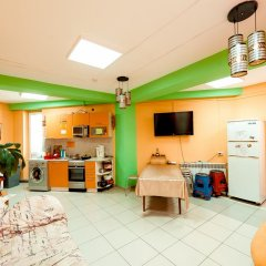 NOMADS hostel & apartments Кровать в общем номере с двухъярусной кроватью фото 3