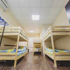 Мини-Отель Компас Кровать в общем номере с двухъярусной кроватью фото 8