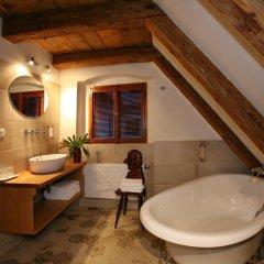 Отель Residence U Mecenáše Чехия, Прага - отзывы, цены и фото номеров - забронировать отель Residence U Mecenáše онлайн ванная