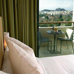 Отель Hilton Athens 5* Стандартный номер разные типы кроватей фото 2