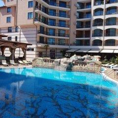 Отель Sunny Beach Rent Apartments Karolina Болгария, Солнечный берег - отзывы, цены и фото номеров - забронировать отель Sunny Beach Rent Apartments Karolina онлайн бассейн фото 3