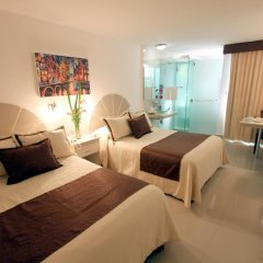 Отель Plaza Caribe Мексика, Канкун - отзывы, цены и фото номеров - забронировать отель Plaza Caribe онлайн комната для гостей фото 6