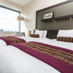 Отель Hilton London Canary Wharf 4* Представительский номер с различными типами кроватей фото 7