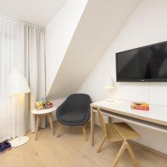 Отель Scandic Scandinavie 4* Номер Эконом с различными типами кроватей фото 2