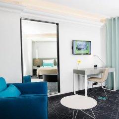 Отель L Ermitage 4* Улучшенный семейный номер с разными типами кроватей фото 5