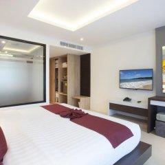Отель Paripas Patong Resort 4* Стандартный семейный номер с разными типами кроватей фото 5