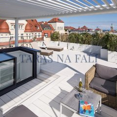 Апартаменты Taras Na Fali Apartments Сопот балкон