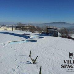 Отель Villa Spaggo Complex спортивное сооружение