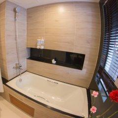 Отель Racha Residence Sri Racha 3* Улучшенные апартаменты с различными типами кроватей фото 8