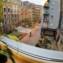 Апартаменты Royal Apartments Вроцлав балкон