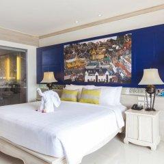 Отель Novotel Phuket Resort 4* Стандартный семейный номер с двуспальной кроватью фото 7