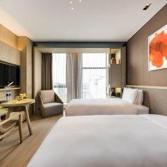 Отель Novotel Shanghai Clover 4* Номер Премьер с 2 отдельными кроватями фото 3