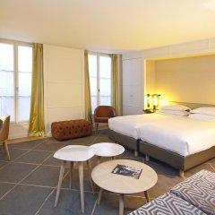 Отель Hôtel Opéra Richepanse 4* Номер Делюкс с различными типами кроватей фото 22
