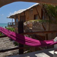 Отель Posada del Sol Tulum 3* Улучшенный номер с различными типами кроватей фото 12