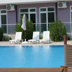 Отель Solmarin Apartcomplex Болгария, Солнечный берег - отзывы, цены и фото номеров - забронировать отель Solmarin Apartcomplex онлайн бассейн фото 3