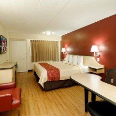 Отель Red Roof Inn Columbus West Улучшенный номер фото 5