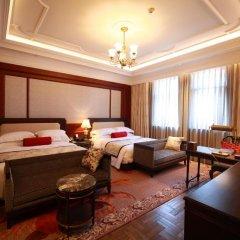 Shanghai Donghu Hotel 4* Стандартный семейный номер разные типы кроватей фото 4