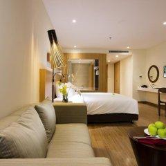 Отель StarCity Nha Trang 4* Номер Делюкс с различными типами кроватей фото 3