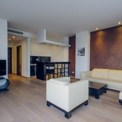 Апартаменты Sky View Luxury Apartments Улучшенные апартаменты с различными типами кроватей фото 7