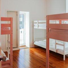 Oporto City Hostel Кровать в общем номере двухъярусные кровати фото 4