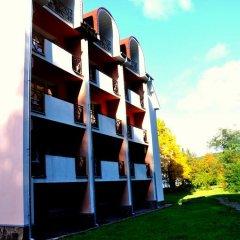 Гостиница Курорт Солнечная Поляна вид на фасад фото 6