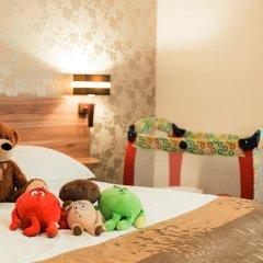 Duet Hotel 3* Стандартный семейный номер с разными типами кроватей фото 11