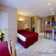 Отель Residence Courcelle 2* Студия с различными типами кроватей фото 3